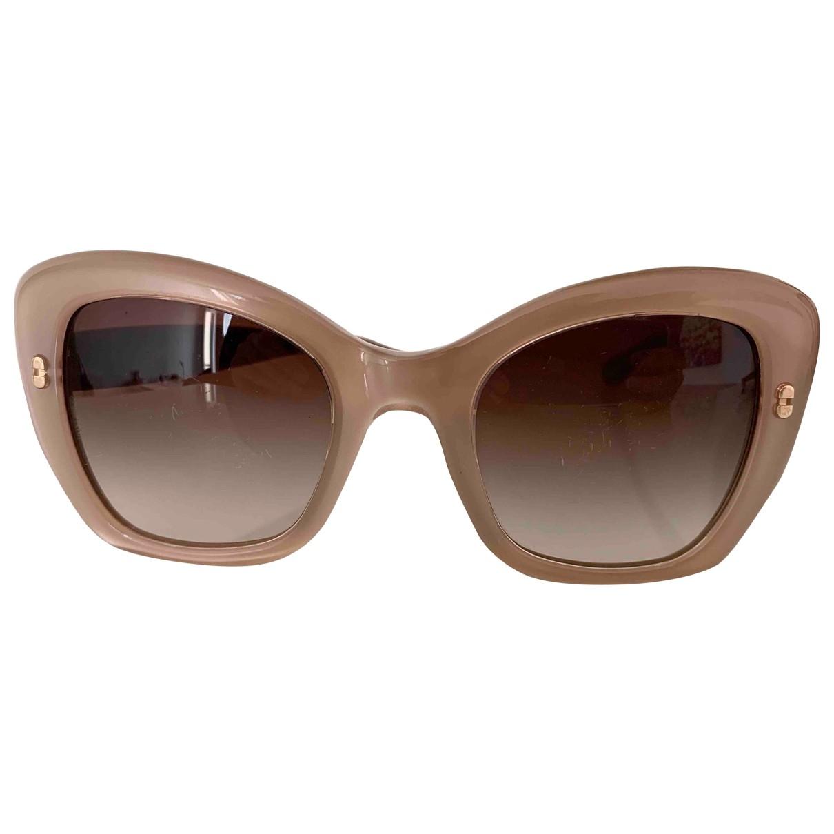 Dolce & Gabbana - Lunettes   pour femme - beige