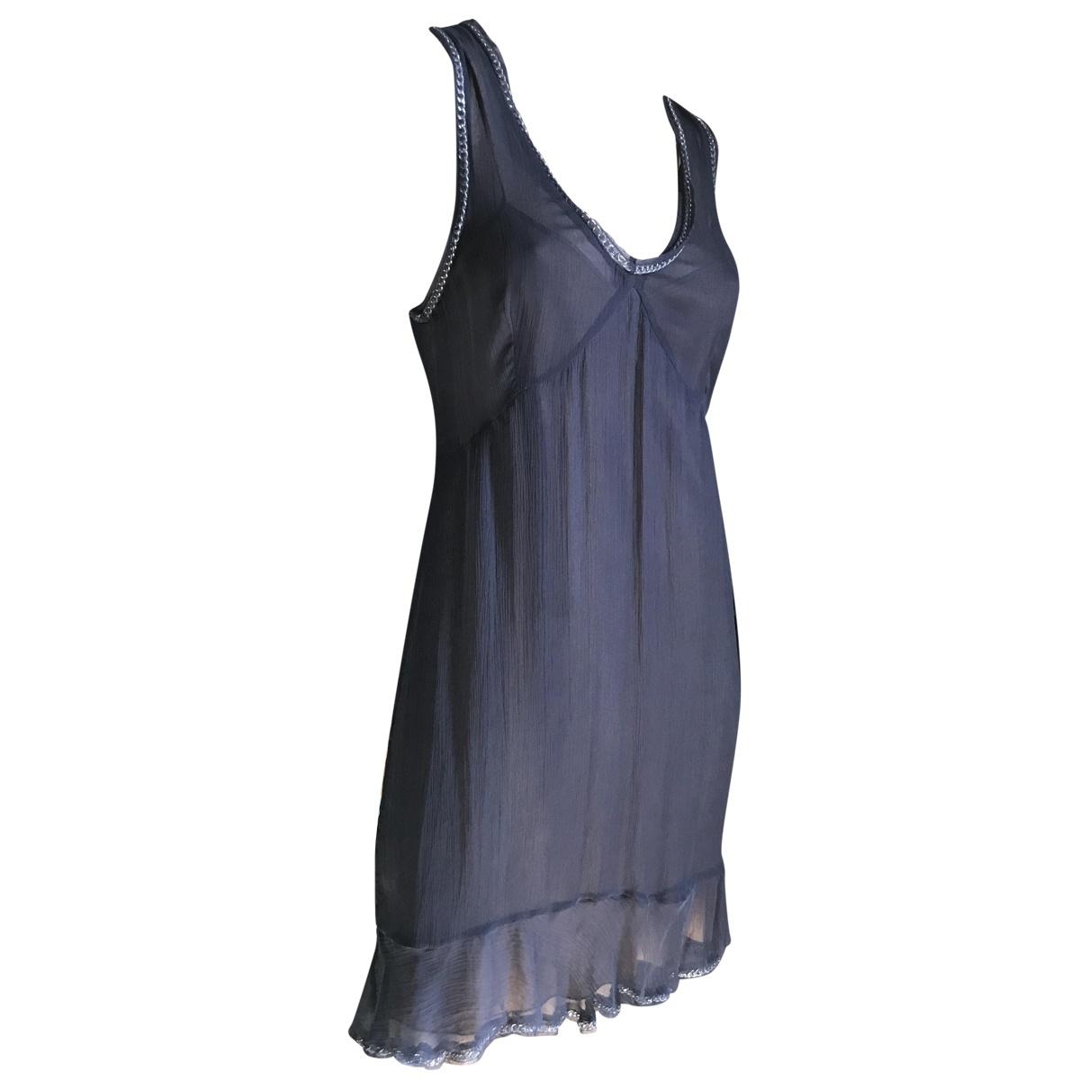 Philosophy Di Alberta Ferretti \N Black Silk dress for Women 44 IT