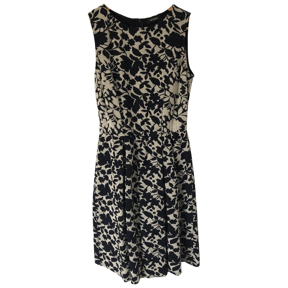 Max & Co \N Kleid in  Blau Wolle
