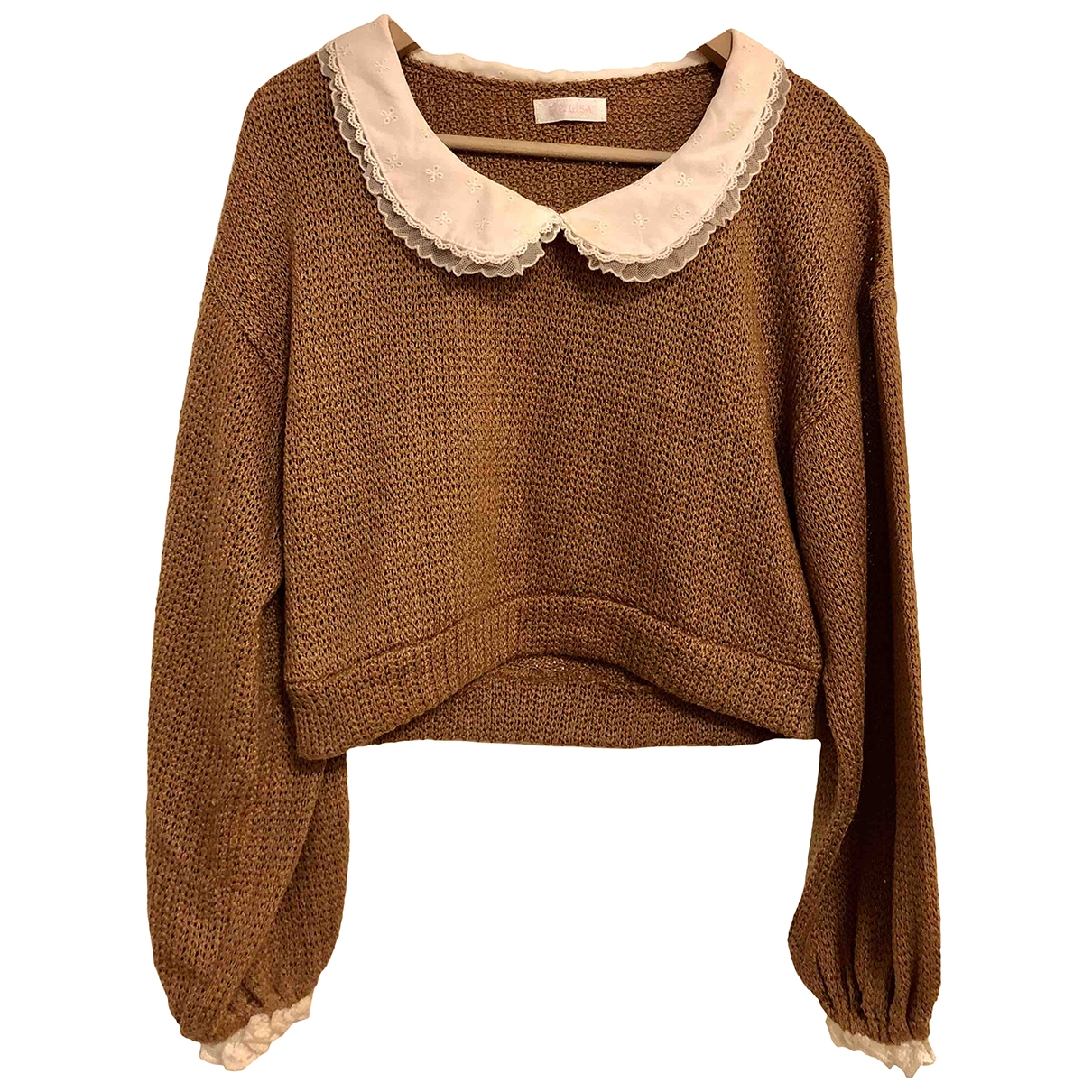 Non Signé / Unsigned \N Beige Cotton Knitwear for Women One Size FR