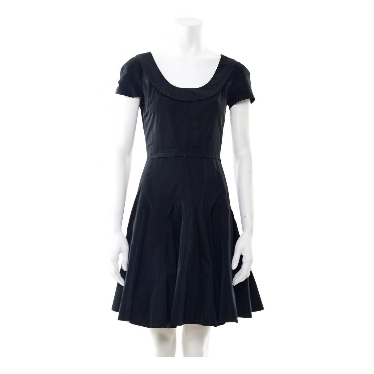 Louis Vuitton \N Kleid in  Schwarz Synthetik
