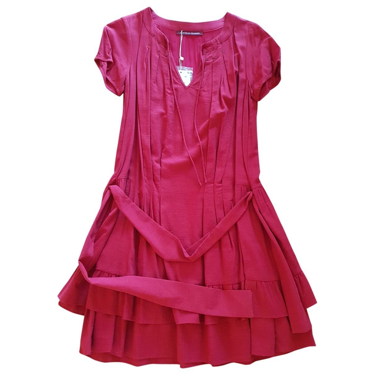Comptoir Des Cotonniers - Robe   pour femme en coton - rose