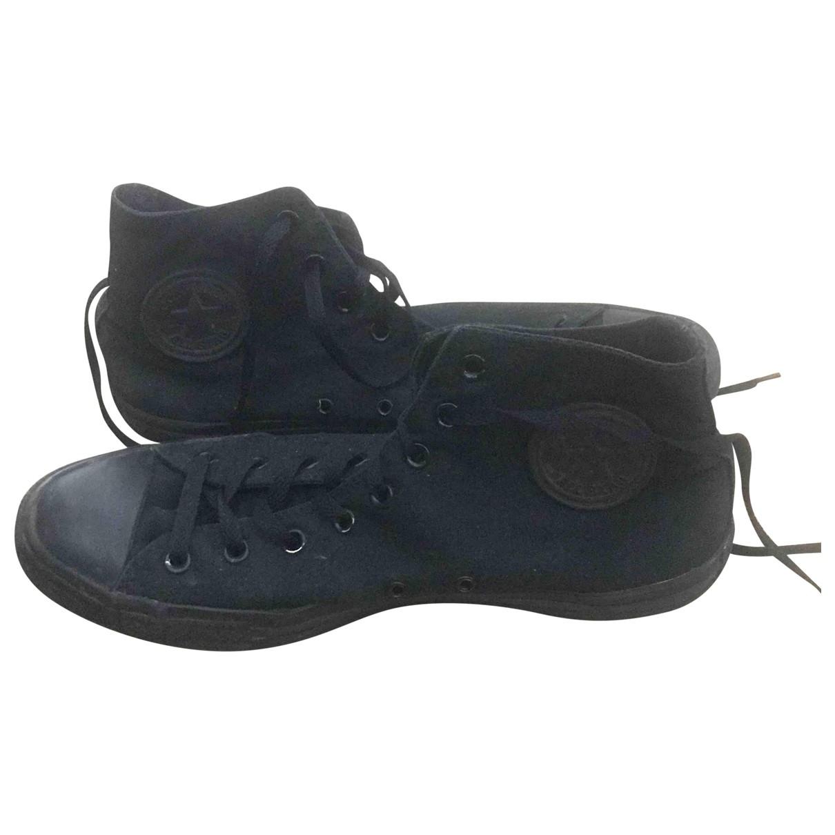 Converse - Baskets   pour homme en toile - noir
