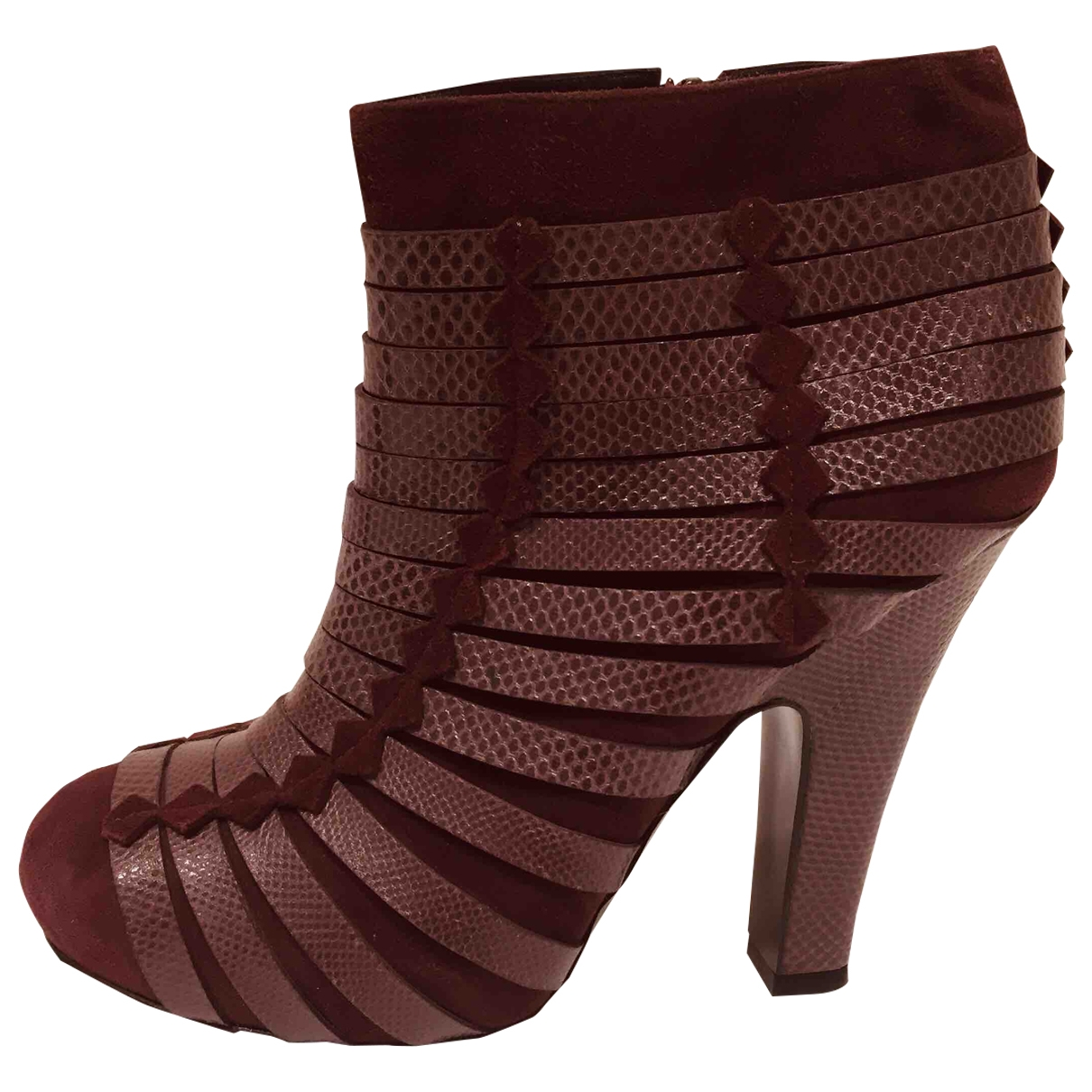 Bottega Veneta - Boots   pour femme en velours