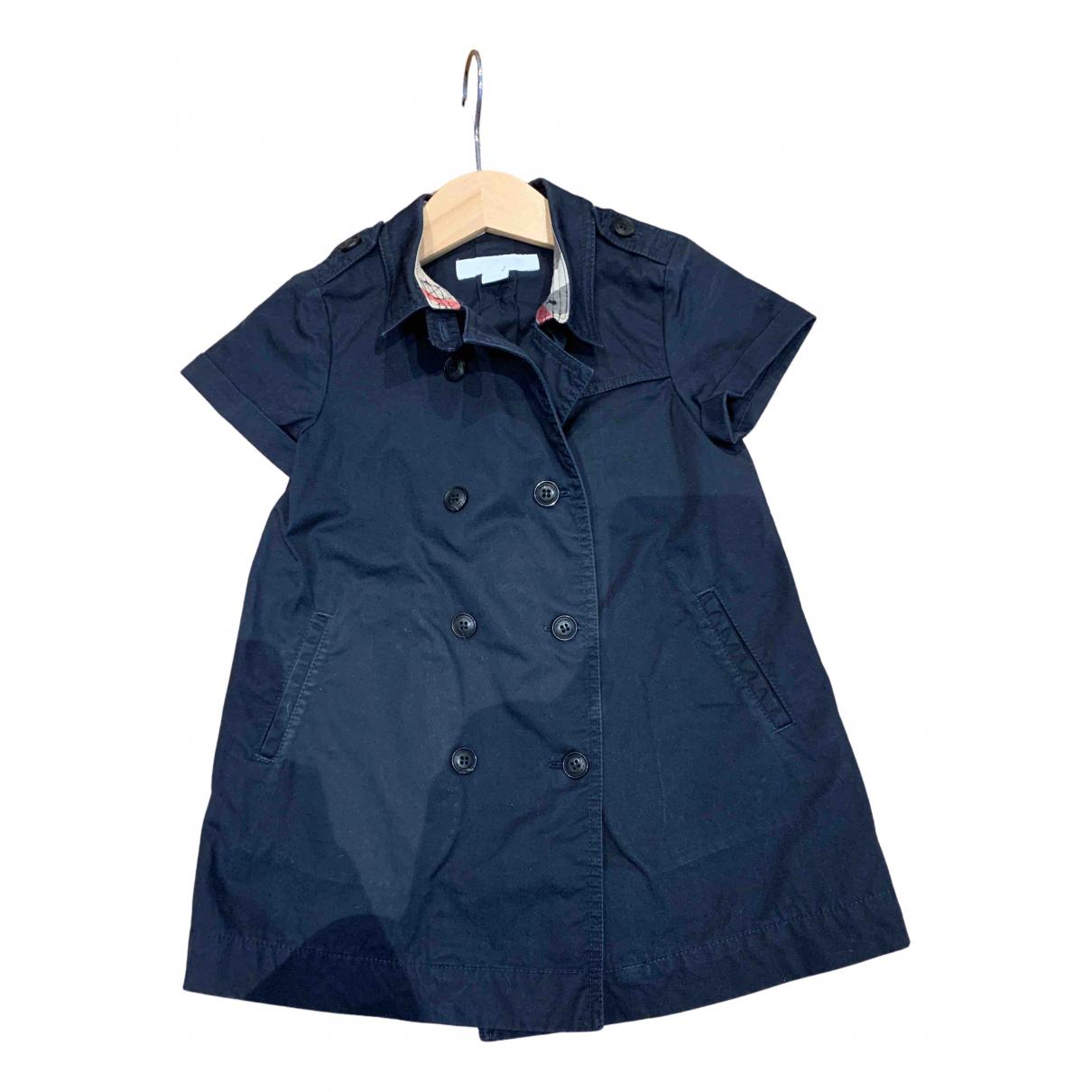 Burberry \N Kleid in  Blau Baumwolle