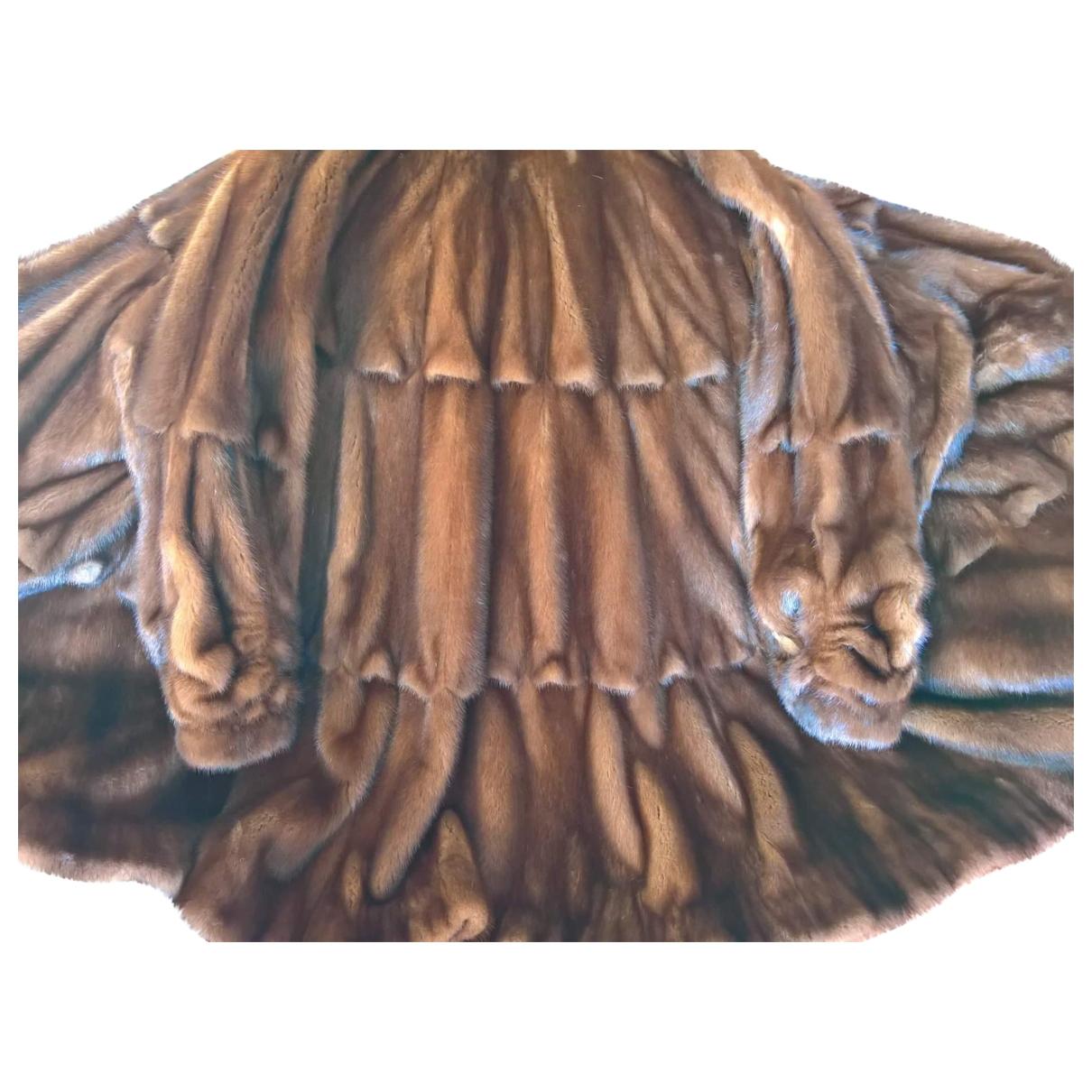 Fendi \N Brown Mink coat for Women 44 IT