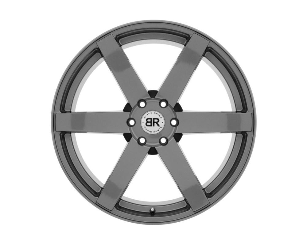 Black Rhino Karoo Gloss Gunmetal Wheel 22x10 6x135 30mm CB87.1