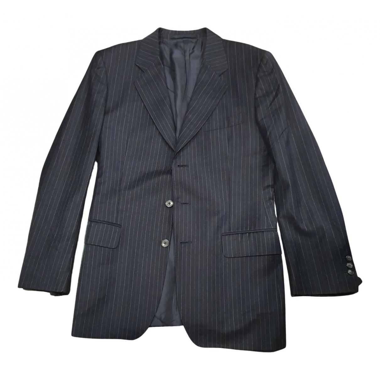 Yves Saint Laurent - Vestes.Blousons   pour homme en laine - bleu