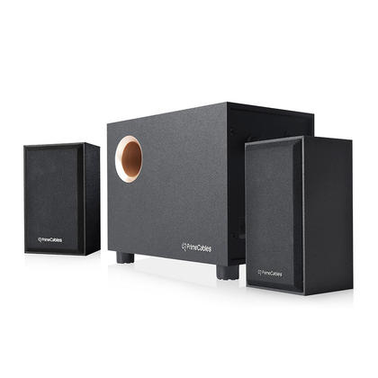 2.1 Multimedia Stereo Powered Speaker and Subwoofer Set - PrimeCables®