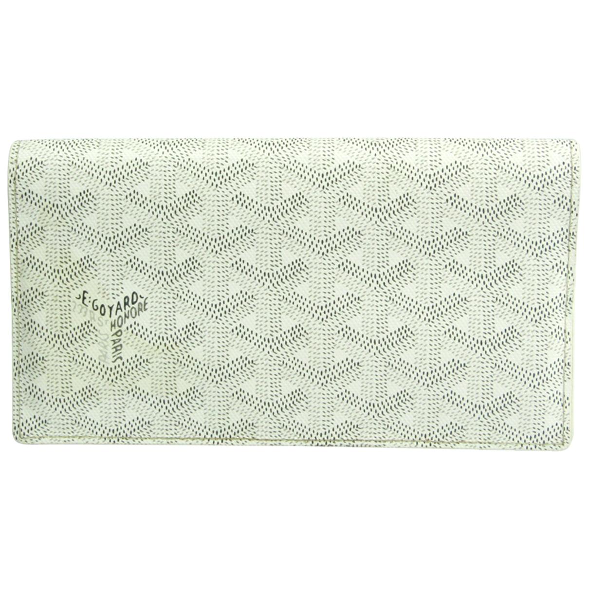 Goyard Richelieu White Cloth wallet for Women N