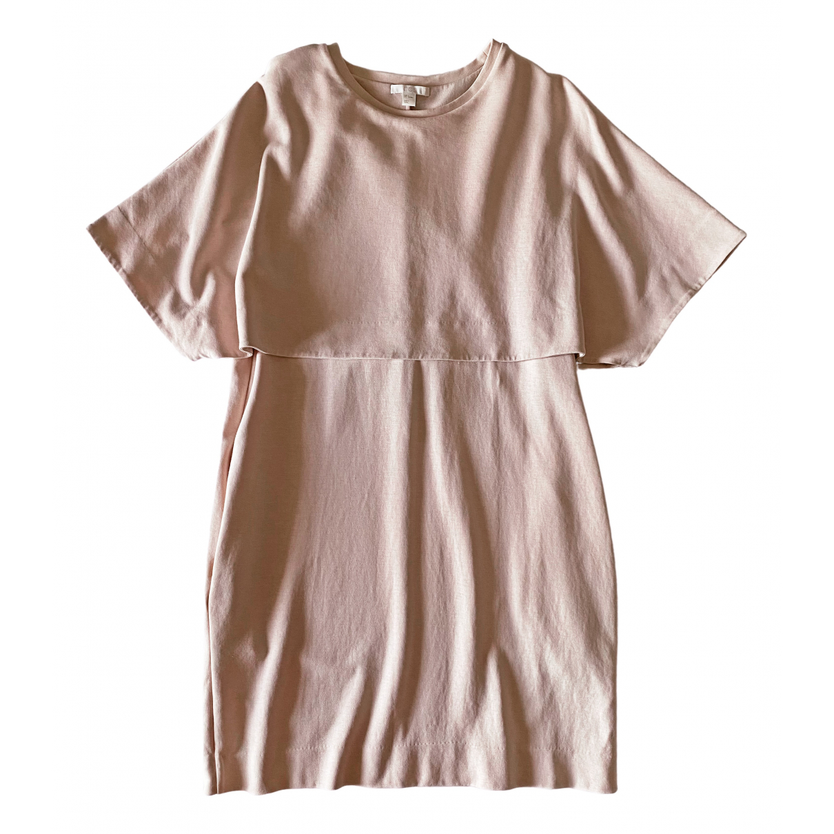 Cos \N Pink Cotton dress for Women S International