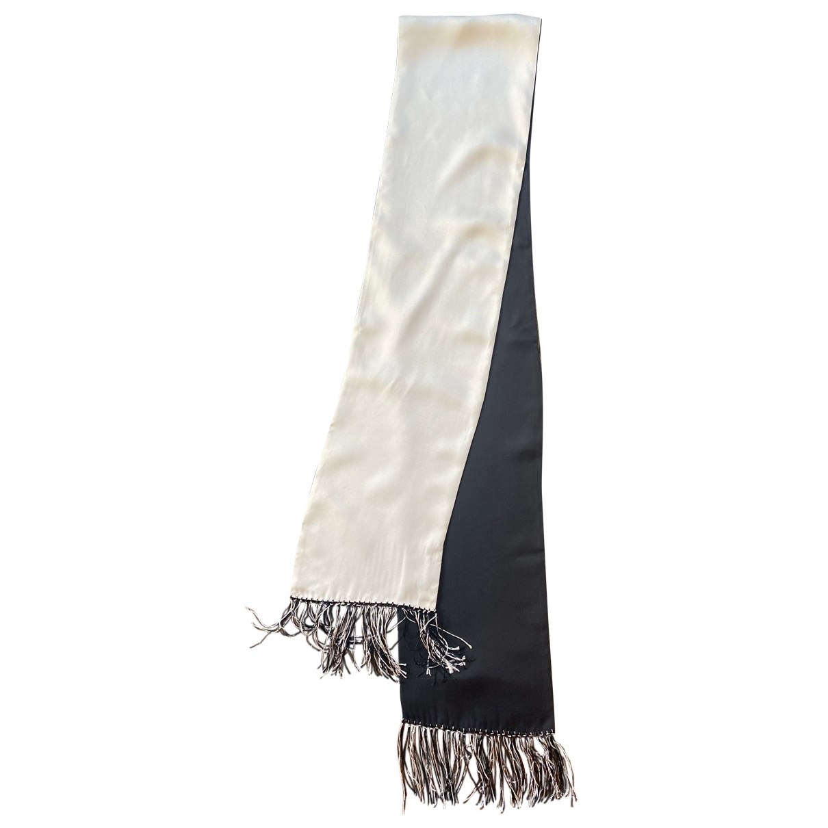 Nicole Farhi \N Grey Silk scarf & pocket squares for Men \N