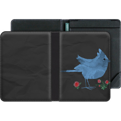 tolino vision 3 HD eBook Reader Huelle - Watercolour Bird Black von caseable Designs