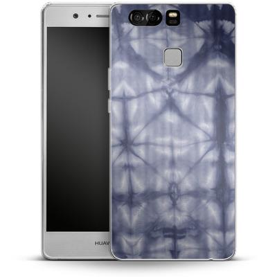 Huawei P9 Silikon Handyhuelle - Tie Dye 2 Navy von Amy Sia