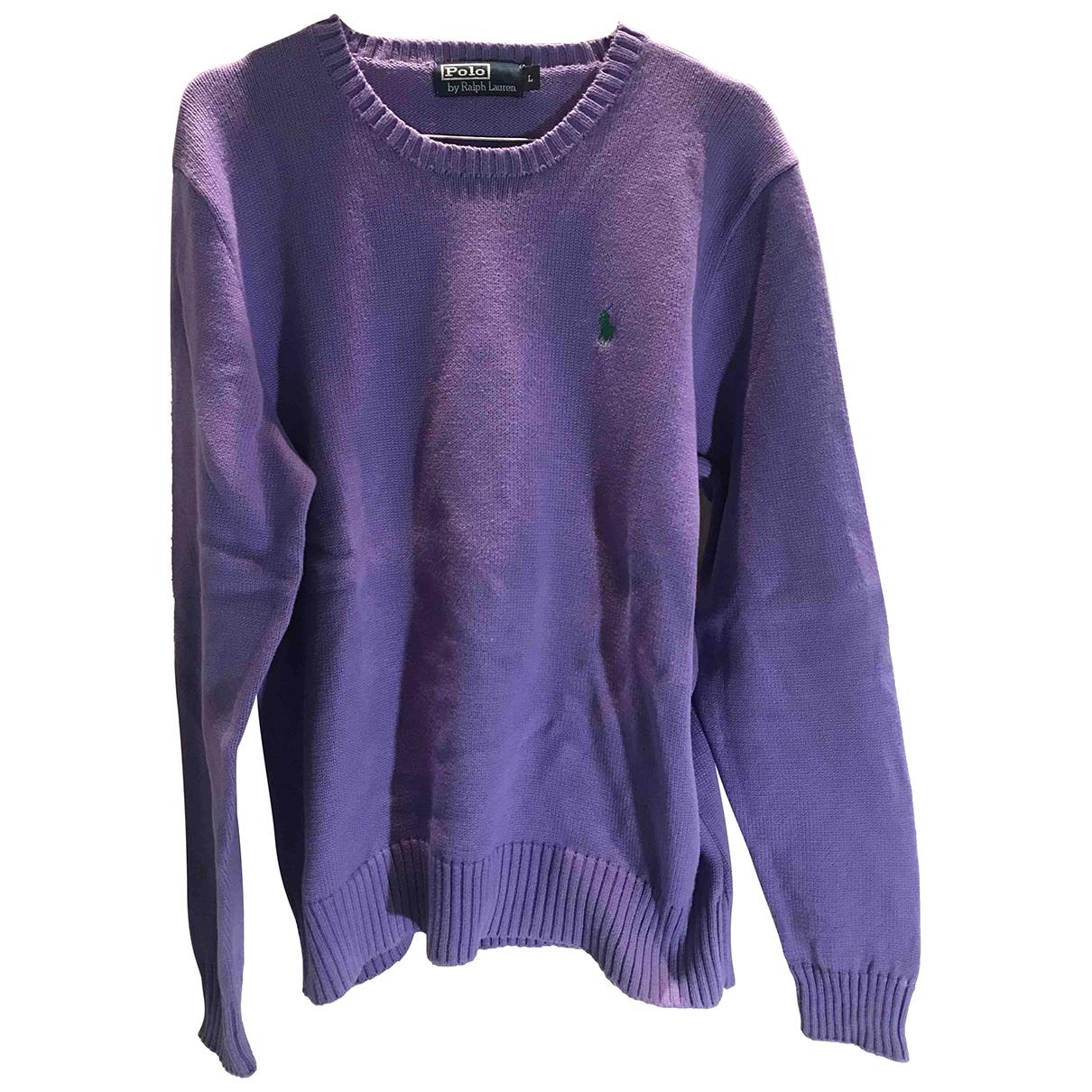 Polo Ralph Lauren - Pulls.Gilets.Sweats   pour homme en coton - violet