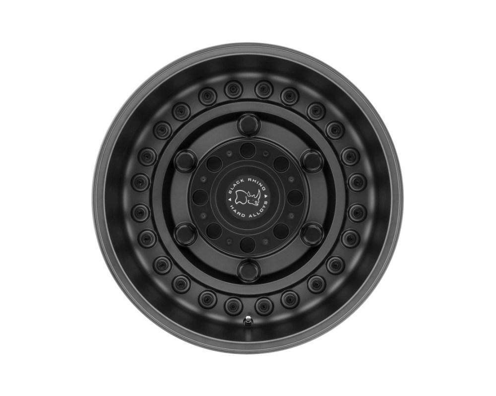 Black Rhino Armory Matte Gunblack Wheel 18x9.5 8x165.10|8x6.5 -18mm CB122.1