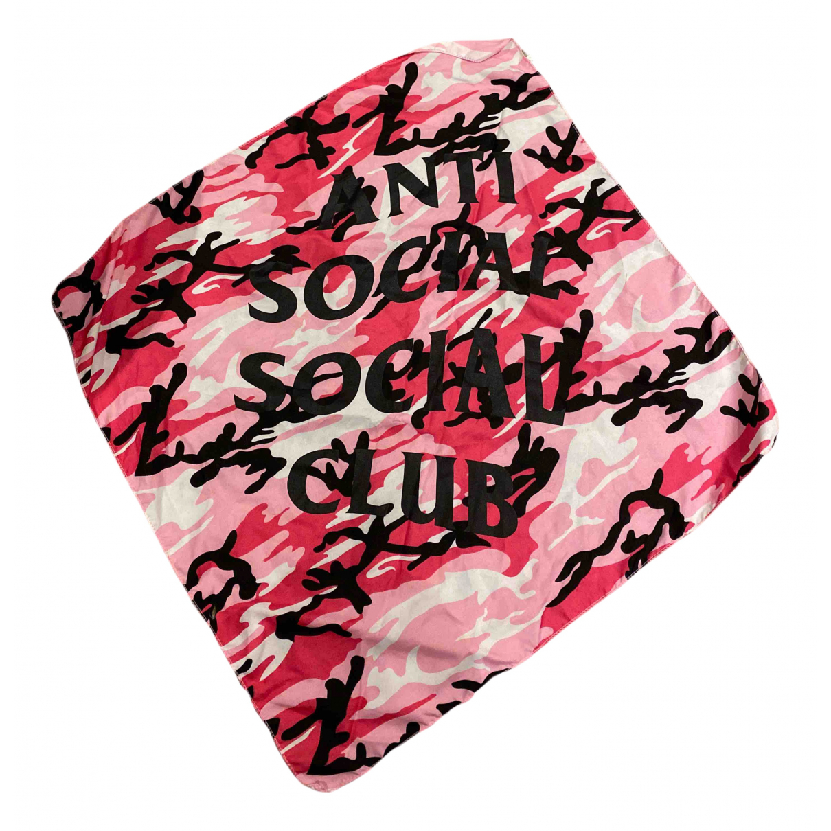 Anti Social Social Club - Cheches.Echarpes   pour homme - rose