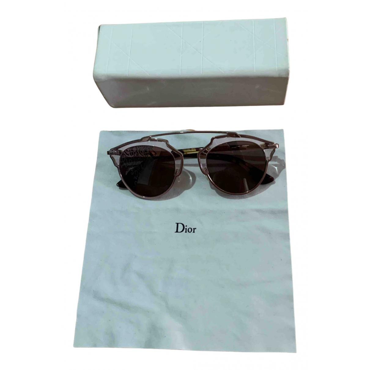 Dior So Real  Sonnenbrillen in  Rosa Metall