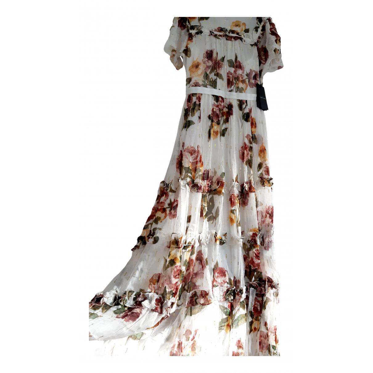 Needle & Thread - Robe   pour femme - blanc