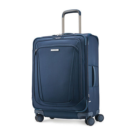 Samsonite Silhouette 16 25 Inch Lightweight Luggage, One Size , Blue