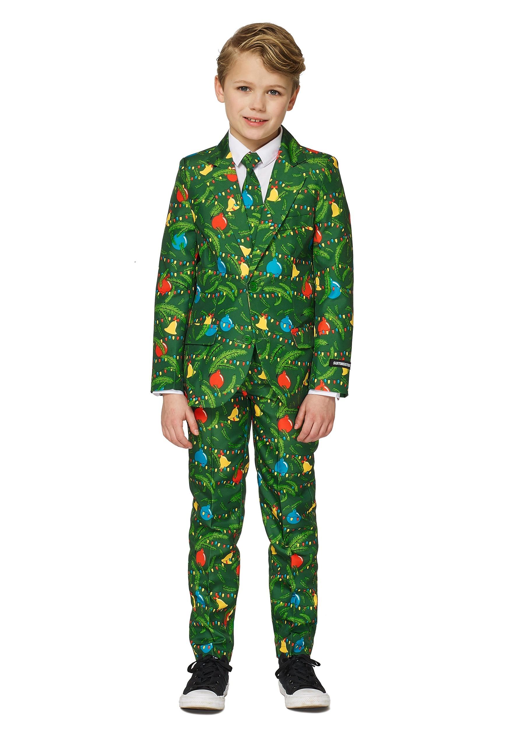 Green Boys Christmas Tree Suitmeister