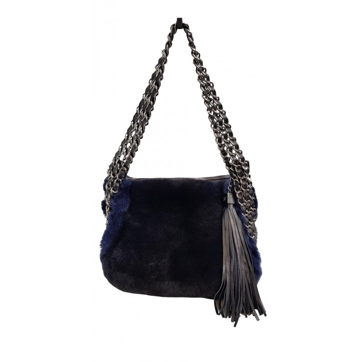 Chanel \N Blue Rabbit handbag for Women \N