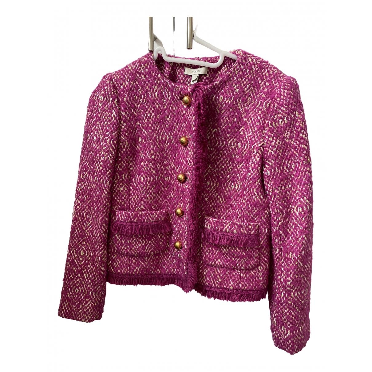 J.crew \N Pink Wool jacket for Women 1 US