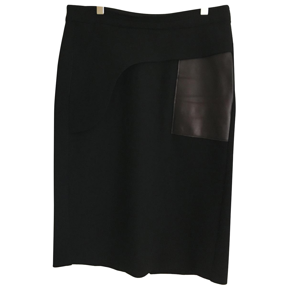 Falda midi de Lana Costume National