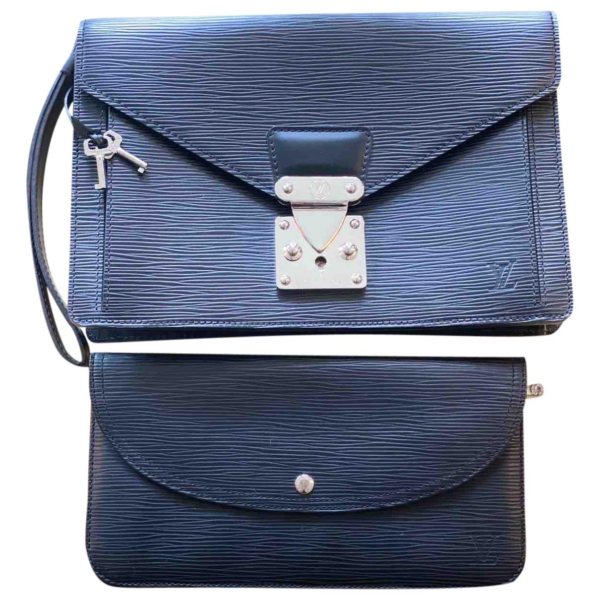 Louis Vuitton Metis Black Leather Clutch bag for Women \N