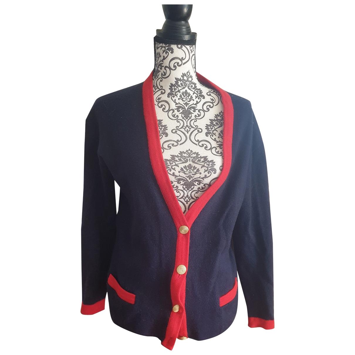 Pierre Balmain - Pull   pour femme en laine - bleu