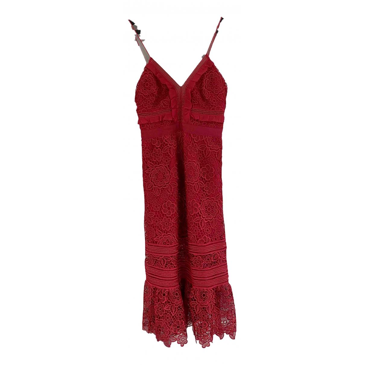 Self Portrait N Red dress for Women 8 UK