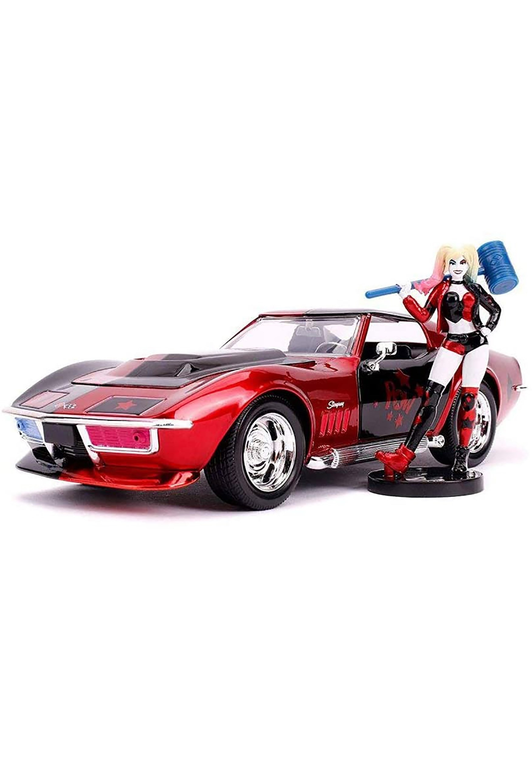 1969 Chevy Corvette Sting ray with Harley Quin 1:24