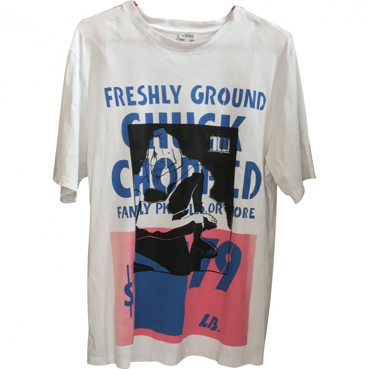 Loewe \N White Cotton T-shirts for Men M International