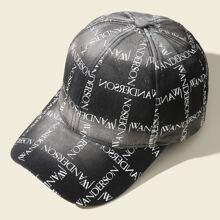 Baseball Kappe mit Buchstaben Grafik