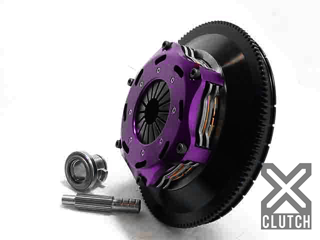 XClutch XKNI18523-2E Clutch Kit with Chromoly Flywheel + HRB 7.25 and Twin Solid Ceramic Discs