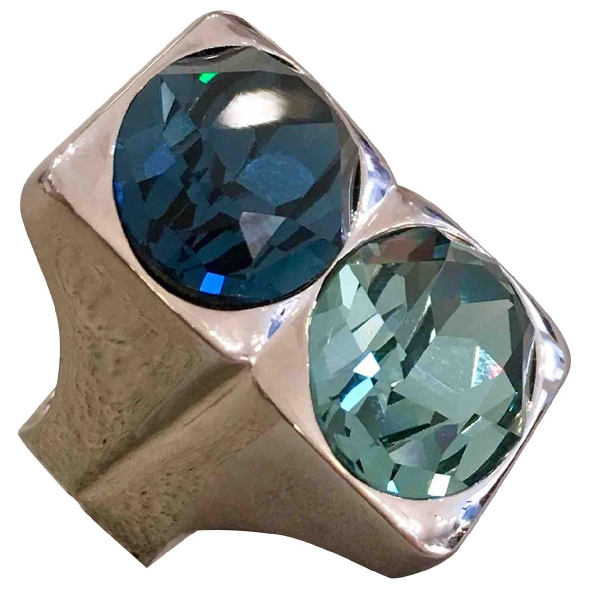 Dior - Bague   pour femme en metal - bleu