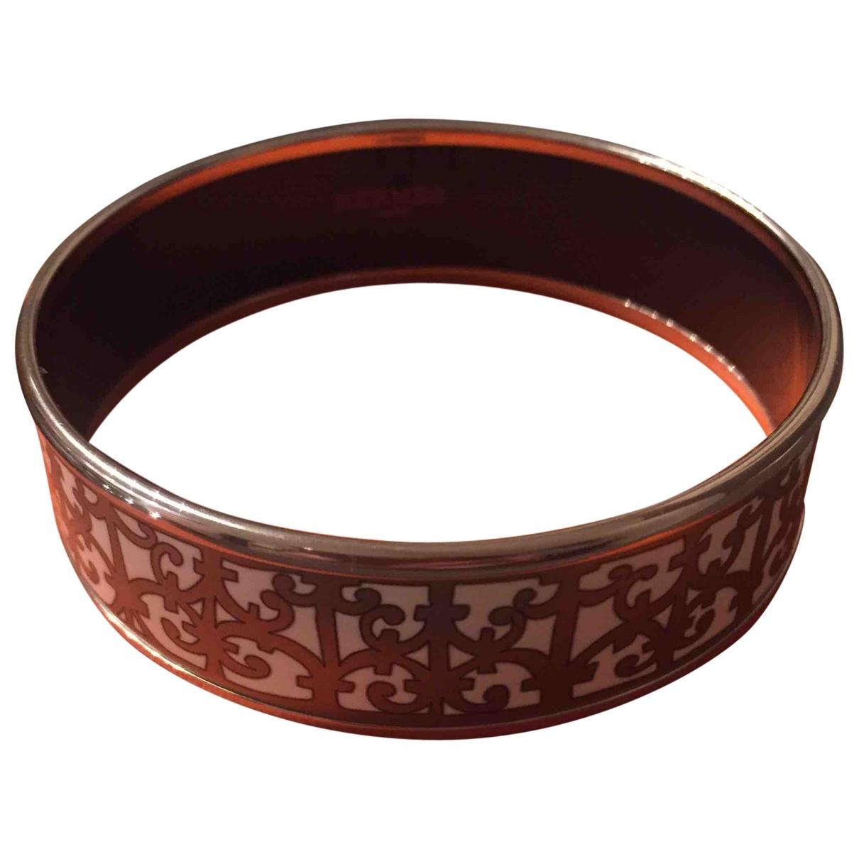 Pulsera Bracelet Email de Plata Hermes