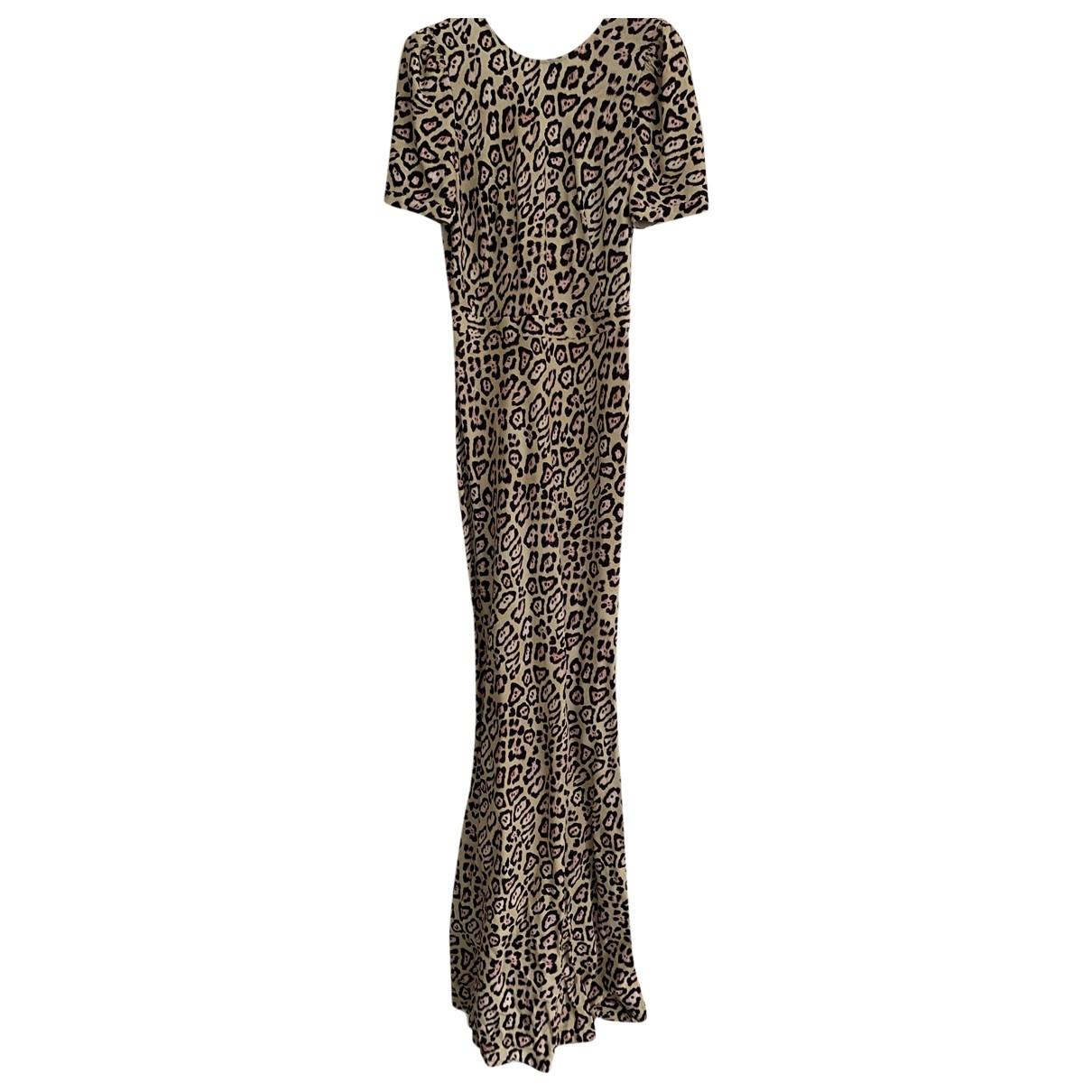 Givenchy \N Kleid in  Beige Viskose