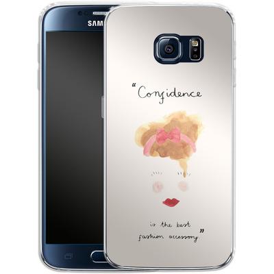 Samsung Galaxy S6 Silikon Handyhuelle - Confidence von caseable Designs