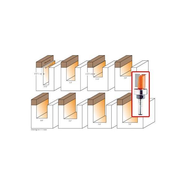 811.142.11B Pattern Router Bit 1/4