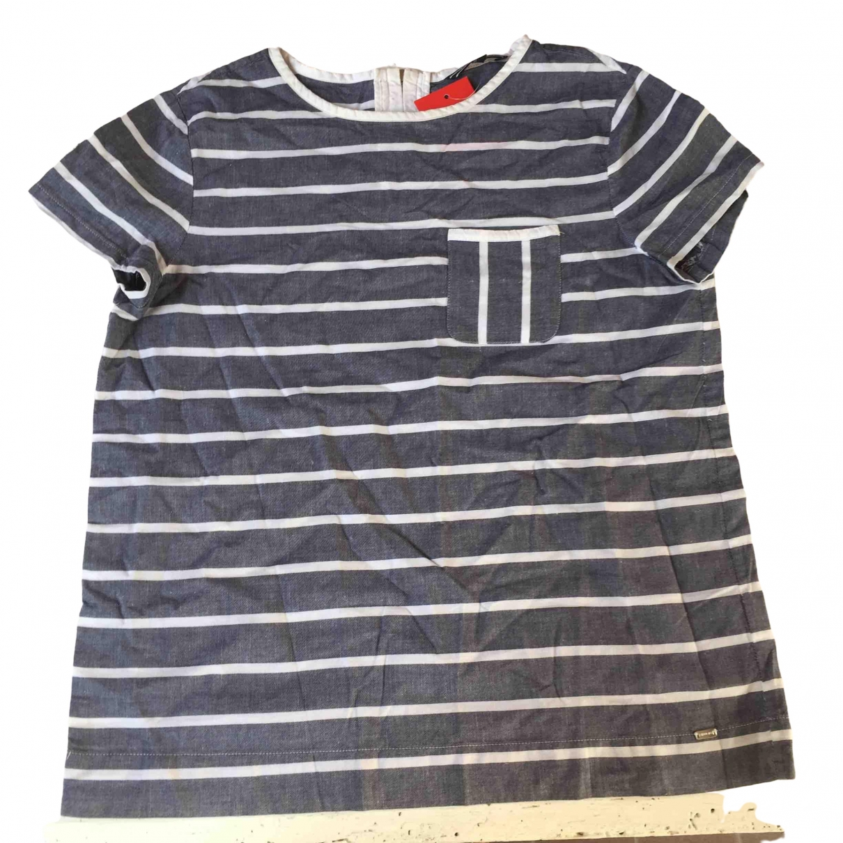 Tommy Hilfiger \N Blue Cotton  top for Women 6 UK