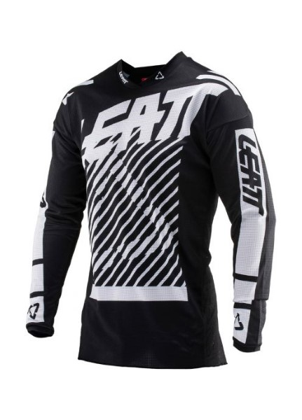 Leatt 5019011253 Black GPX 4.5 Lite Jersey X-Large