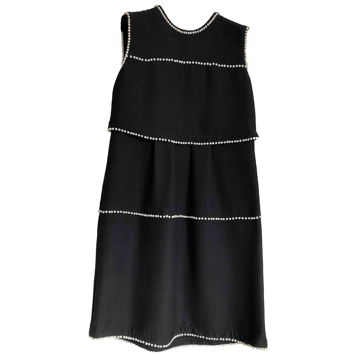 Edward Achour \N Kleid in  Schwarz Polyester