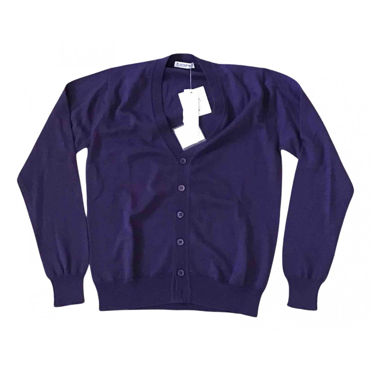Non Signe / Unsigned \N Pullover.Westen.Sweatshirts  in  Lila Baumwolle