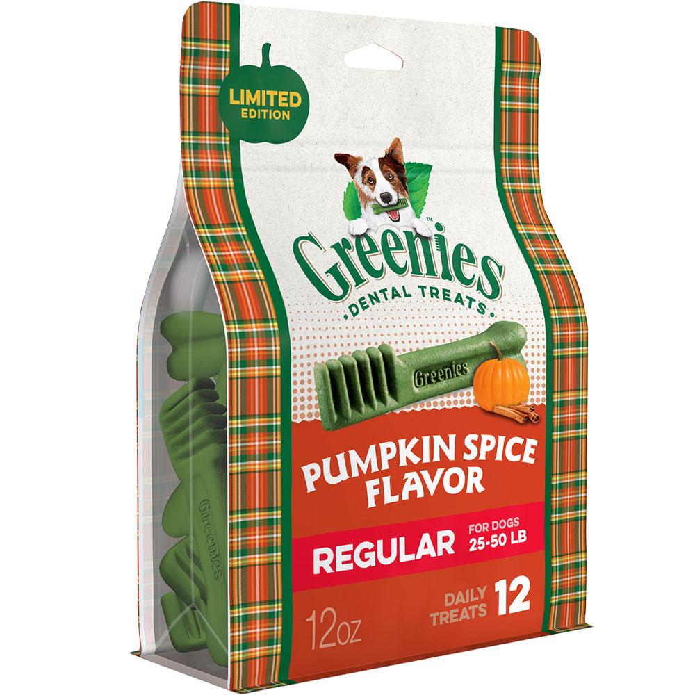 Greenies Pumpkin Spice - Regular 12oz (12 Bones)