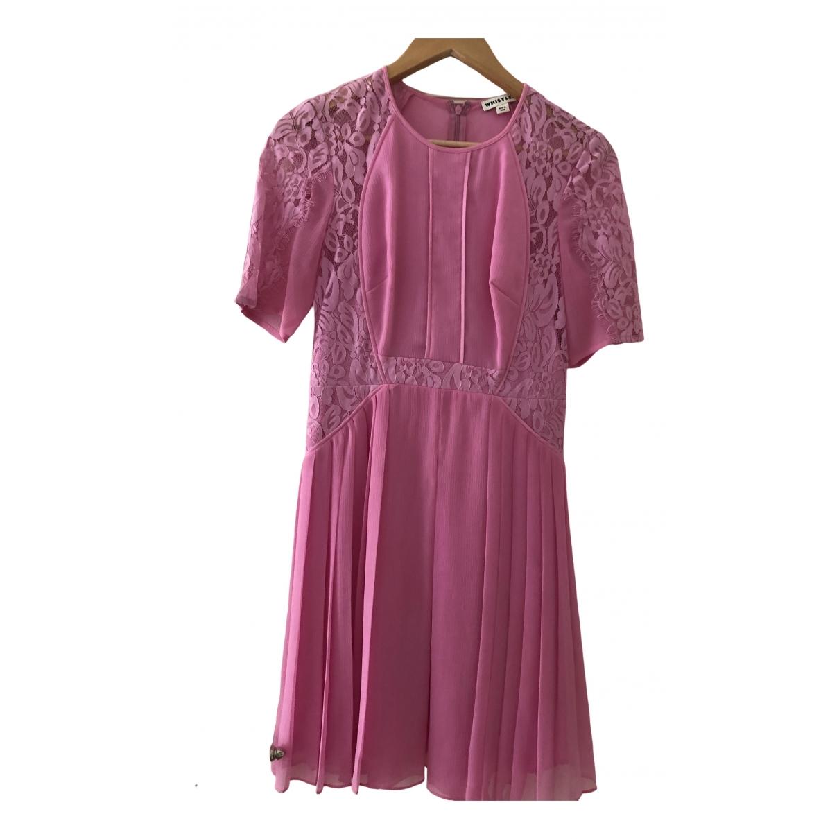 Whistles \N Kleid in  Rosa Polyester
