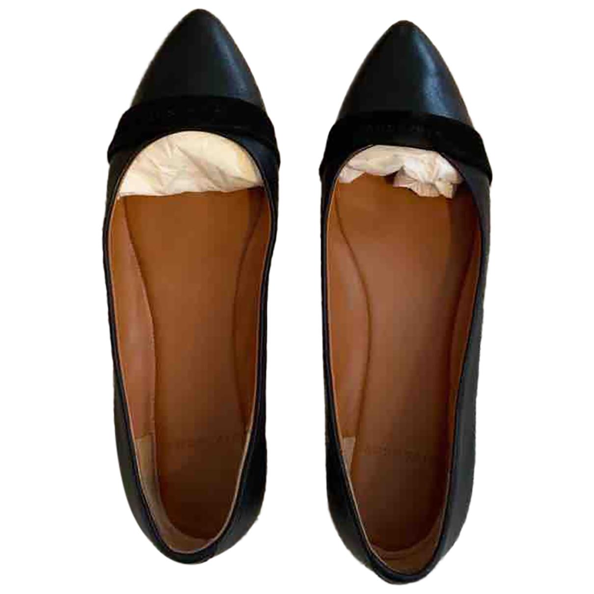 Givenchy - Ballerines   pour femme en cuir - noir