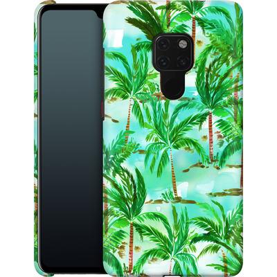 Huawei Mate 20 Smartphone Huelle - Palm Tree Green  von Amy Sia