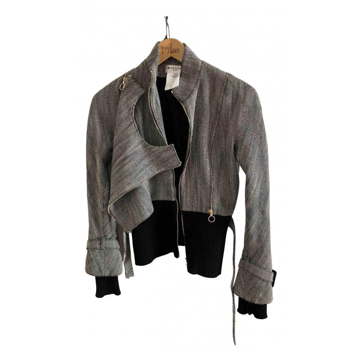 Givenchy - Blouson   pour femme en laine - gris