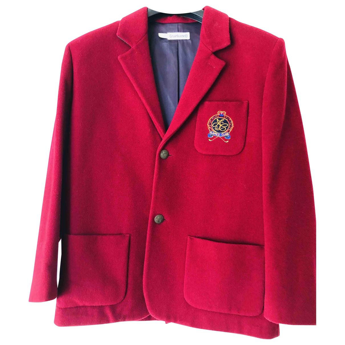 Cacharel - Veste   pour femme en laine - rouge